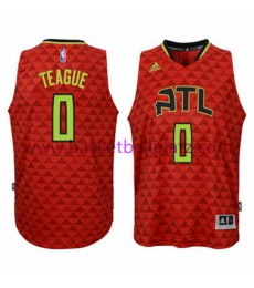 Atlanta Hawks Trikot Kinder 15-16 Jeff Teague 0# Alternate Basketball Trikot Swingman