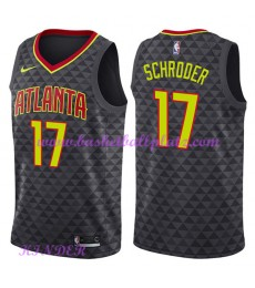 Atlanta Hawks NBA Trikot Kinder 2018-19 Dennis Schroder 17# Icon Edition Basketball Trikots Swingman..