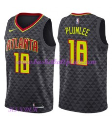 Atlanta Hawks NBA Trikot Kinder 2018-19 Miles Plumlee 18# Icon Edition Basketball Trikots Swingman..
