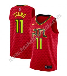 Atlanta Hawks Trikot Herren 2019-20 Trae Young 11# Rot Statement Edition Basketball Trikots NBA Swin..