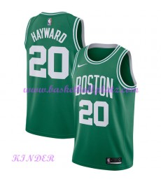 Boston Celtics NBA Trikot Kinder 2018-19 Gordon Hayward 20# Icon Edition Basketball Trikots Swingman..