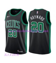 Boston Celtics NBA Trikot Kinder 2018-19 Gordon Hayward 20# Statement Edition Basketball Trikots Swi..