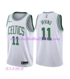 Boston Celtics NBA Trikot Kinder 2018-19 Kyrie Irving 11# Association Edition Basketball Trikots Swingman