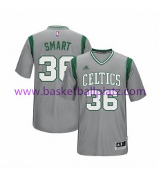 Boston Celtics Trikot Herren 15-16 Marcus Smart 36# Pride Basketball Trikot Swingman..