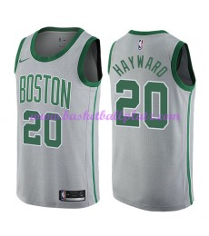 Boston Celtics Trikot Herren 2018-19 Gordon Hayward 20# City Edition Basketball Trikots NBA Swingman..