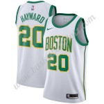 Boston Celtics Trikot Herren 2019-20 Gordon Hayward 20# Weiß City Edition Basketball Trikots NBA Swingman