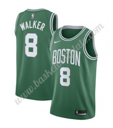 Boston Celtics Trikot Herren 2019-20 Kemba Walker 8# Grün Icon Edition Basketball Trikots NBA Swingm..
