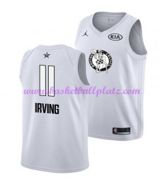 Boston Celtics Trikot Herren Kyrie Irving 11# Weiß 2018 NBA All Star Game Basketball Trikots Swingma..