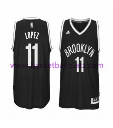 Brooklyn Nets Trikot Herren 15-16 Brook Lopez 11# Road Basketball Trikot Swingman..