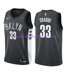 Brooklyn Nets Trikot Herren 2018-19 Allen Crabbe 33# Statement Edition Basketball Trikots NBA Swingm..