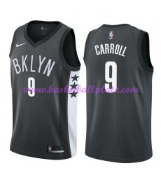 Brooklyn Nets Trikot Herren 2018-19 DeMarre Carroll 9# Statement Edition Basketball Trikots NBA Swin..