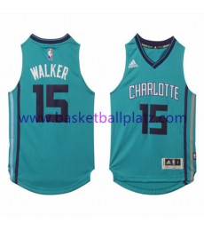 Charlotte Hornets Trikot Kinder 15-16 Kemba Walker 15# Alternate Basketball Trikot Swingman