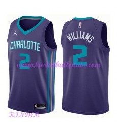 Charlotte Hornets NBA Trikot Kinder 2018-19 Marvin Williams 2# Statement Edition Basketball Trikots ..