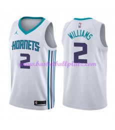 Charlotte Hornets Trikot Herren 2018-19 Marvin Williams 2# Association Edition Basketball Trikots NB..