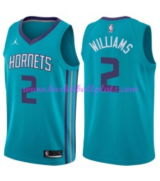 Charlotte Hornets Trikot Herren 2018-19 Marvin Williams 2# Icon Edition Basketball Trikots NBA Swing..