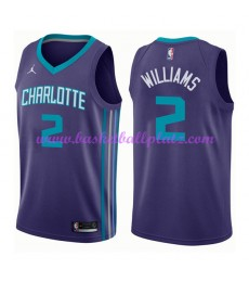 Charlotte Hornets Trikot Herren 2018-19 Marvin Williams 2# Statement Edition Basketball Trikots NBA ..