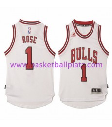 Chicago Bulls Trikot Kinder 15-16 Derrick Rose 1# Home Basketball Trikot Swingman