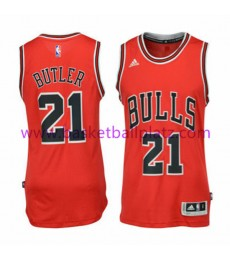 Chicago Bulls Trikot Kinder 15-16 Jimmy Butler 21# Road Basketball Trikot Swingman