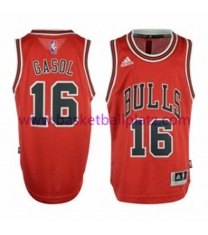Chicago Bulls Trikot Kinder 15-16 Pau Gasol 16# Road Basketball Trikot Swingman