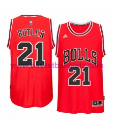 Chicago Bulls Trikot Herren 15-16 Jimmy Butler 21# Road Basketball Trikot Swingman