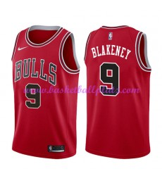 Chicago Bulls Trikot Herren 2018-19 Antonio Blakeney 9# Icon Edition Basketball Trikots NBA Swingman..