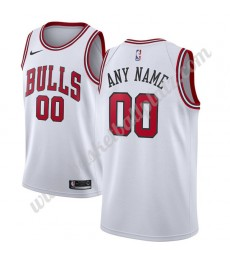 Chicago Bulls Trikot Herren 2018-19 Association Edition Basketball Trikots NBA Swingman..