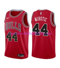 Chicago Bulls Trikot Herren 2018-19 Nikola Mirotic 44# Icon Edition Basketball Trikots NBA Swingman..