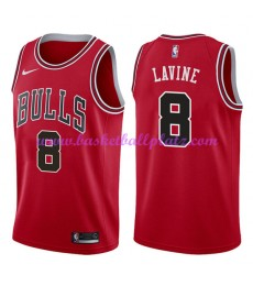 Chicago Bulls Trikot Herren 2018-19 Zach Lavine 8# Icon Edition Basketball Trikots NBA Swingman..