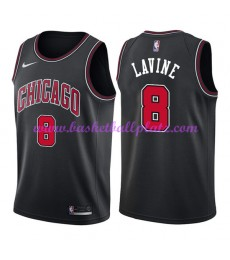 Chicago Bulls Trikot Herren 2018-19 Zach Lavine 8# Statement Edition Basketball Trikots NBA Swingman..