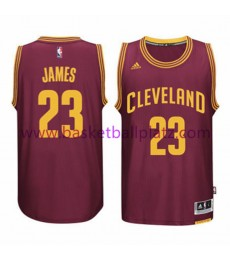 Cleveland Cavaliers Trikot Kinder 15-16 LeBron James 23# Road Basketball Trikot Swingman..
