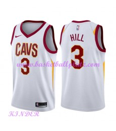 Cleveland Cavaliers NBA Trikot Kinder 2018-19 George Hill 3# Association Edition Basketball Trikots ..