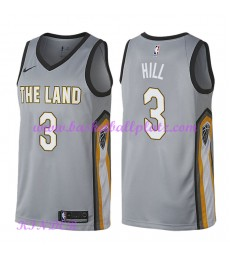 Cleveland Cavaliers NBA Trikot Kinder 2018-19 George Hill 3# City Edition Basketball Trikots Swingma..