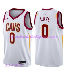 Cleveland Cavaliers NBA Trikot Kinder 2018-19 Kevin Love 0# Association Edition Basketball Trikots S..