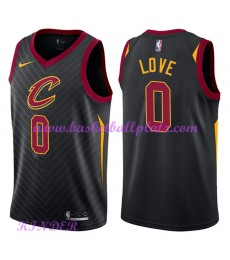 Cleveland Cavaliers NBA Trikot Kinder 2018-19 Kevin Love 0# Statement Edition Basketball Trikots Swi..