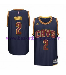Cleveland Cavaliers Trikot Herren 15-16 Kyrie Irving 2# Navy Alternate Basketball Trikot Swingman..