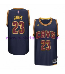Cleveland Cavaliers Trikot Herren 15-16 LeBron James 23# Navy Alternate Basketball Trikot Swingman