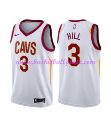 Cleveland Cavaliers Trikot Herren 2018-19 George Hill 3# Association Edition Basketball Trikots NBA ..