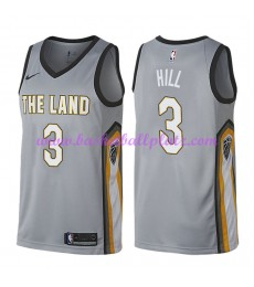 Cleveland Cavaliers Trikot Herren 2018-19 George Hill 3# City Edition Basketball Trikots NBA Swingma..