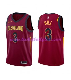 Cleveland Cavaliers Trikot Herren 2018-19 George Hill 3# Icon Edition Basketball Trikots NBA Swingma..