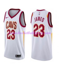 Cleveland Cavaliers Trikot Herren 2018-19 LeBron James 23# Association Edition Basketball Trikots NB..