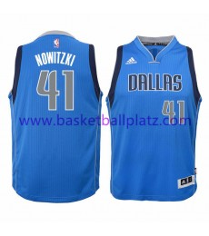 Dallas Mavericks Trikot Kinder 15-16 Dirk Nowitzki 41# Road Basketball Trikot Swingman..