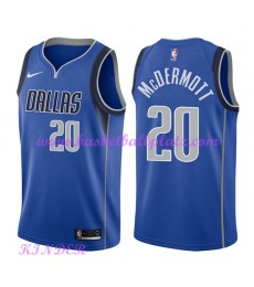 Dallas Mavericks NBA Trikot Kinder 2018-19 Doug McDermott 20# Icon Edition Basketball Trikots Swingm..