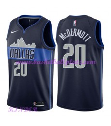 Dallas Mavericks NBA Trikot Kinder 2018-19 Doug McDermott 20# Statement Edition Basketball Trikots S..