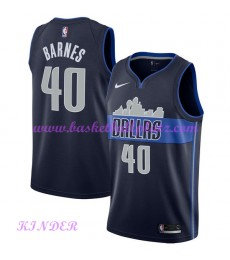 Dallas Mavericks NBA Trikot Kinder 2018-19 Harrison Barnes 40# Statement Edition Basketball Trikots ..