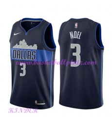 Dallas Mavericks NBA Trikot Kinder 2018-19 Nerlens Noel 3# Statement Edition Basketball Trikots Swin..