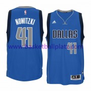 Dallas Mavericks Trikot Herren 15-16 Dirk Nowitzki 41# Road Basketball Trikot Swingman