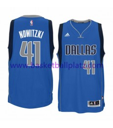 Dallas Mavericks Trikot Herren 15-16 Dirk Nowitzki 41# Road Basketball Trikot Swingman..