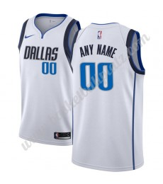Dallas Mavericks Trikot Herren 2018-19 Association Edition Basketball Trikots NBA Swingman..