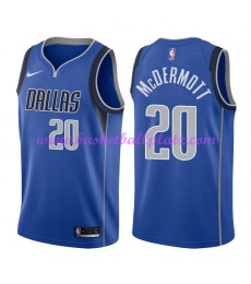 Dallas Mavericks Trikot Herren 2018-19 Doug McDermott 20# Icon Edition Basketball Trikots NBA Swingm..