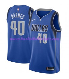 Dallas Mavericks Trikot Herren 2018-19 Harrison Barnes 40# Icon Edition Basketball Trikots NBA Swing..